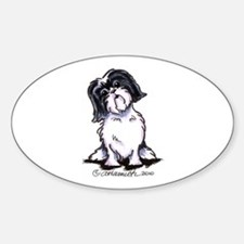Shih Tzu Sit Pretty Decal