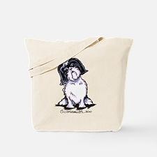 Shih Tzu Sit Pretty Tote Bag