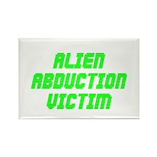 Alien Abduction Victim #1 Rectangle Magnet
