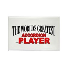 """The World's Greatest Accordion Player"" Rectangle"