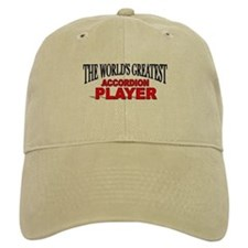 """The World's Greatest Accordion Player"" Baseball Cap"