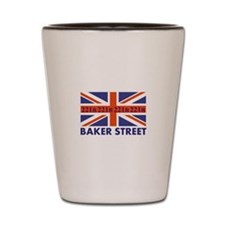 221B Union Jack Shot Glass