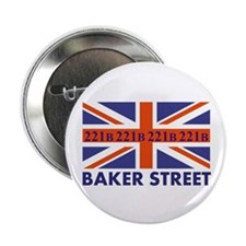 "221B Union Jack 2.25"" Button (10 pack)"