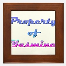 Property Of Yasmine Female Framed Tile