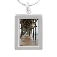 Under the Pier Silver Portrait Necklace