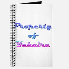 Property Of Yahaira Female Journal