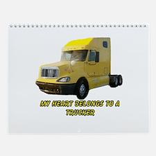 Yellow Truck Wall Calendar