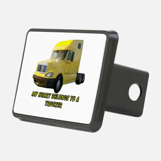 Yellow Truck Hitch Cover