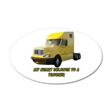 Yellow Truck Wall Decal
