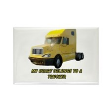 Yellow Truck Magnets