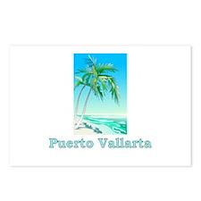 Cute Vintage puerto vallarta Postcards (Package of 8)