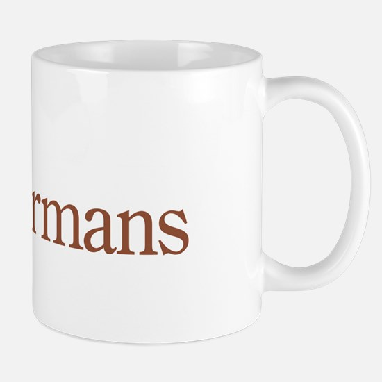 I Heart Dobermans Mug