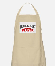 """""""The World's Greatest Cymbal Player"""" BBQ Apron"""