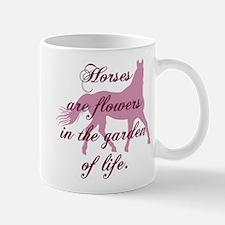 Horse Flowers Mug