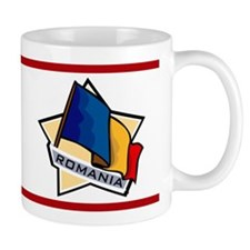 """Romania Star Flag"" Mug"