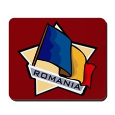 """Romania Star Flag"" Mousepad"