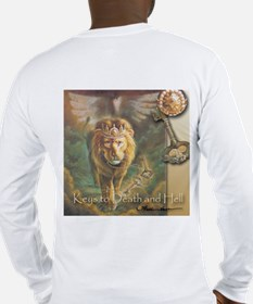"""""""Keys to Death and Hell"""" Fine Art Long Sleeve T"""
