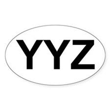 YYZ Decal