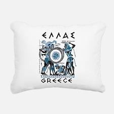 Greek Mythology Rectangular Canvas Pillow
