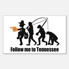 Follow Me To Tennessee Decal