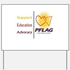 Support Education Advocacy - PFLAG Yard Sign