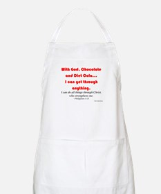 With God... BBQ Apron