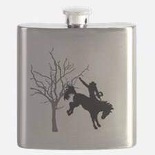 Rodeo Cowboy Flask