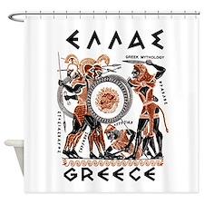 Greek Mythology Shower Curtain