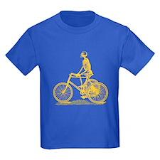 Skeleton on Bicycle T