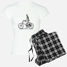 Skeleton on Bicycle Pajamas