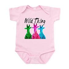 WILD GIRAFFE Infant Bodysuit