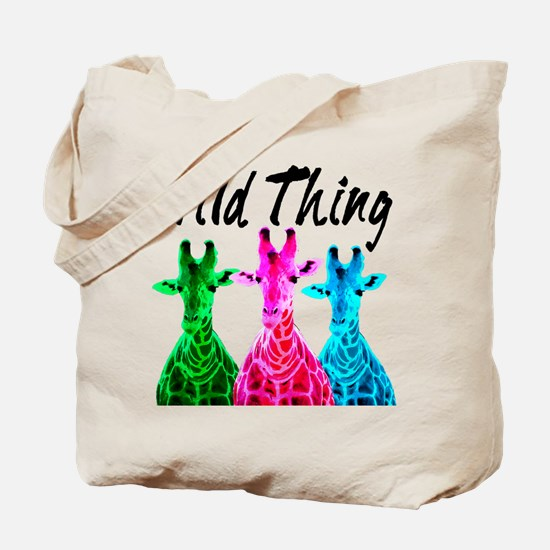 WILD GIRAFFE Tote Bag