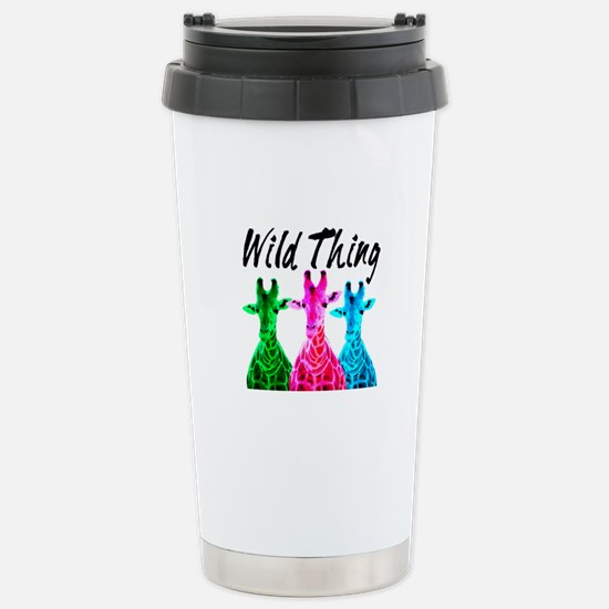 WILD GIRAFFE Stainless Steel Travel Mug