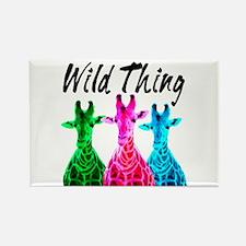 WILD GIRAFFE Rectangle Magnet (100 pack)