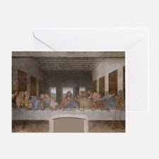 Last Supper by Leonardo da Vinci Greeting Card
