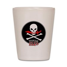 Jolly Roger - His Shot Glass