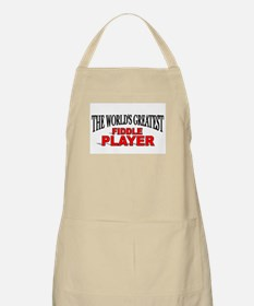 """""""The World's Greatest Fiddle Player"""" BBQ Apron"""
