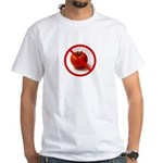 No Tomatoes White T-Shirt