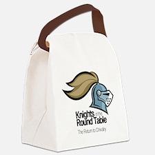 knights-logo-shirt-BLACK Canvas Lunch Bag