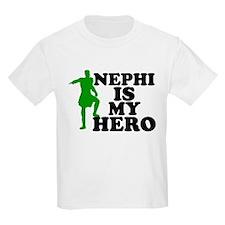MORMON T-SHIRT NEPHI IS MY HE Kids T-Shirt