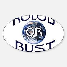 KOLOB OR BUST T-SHIRT KOLOB S Oval Decal