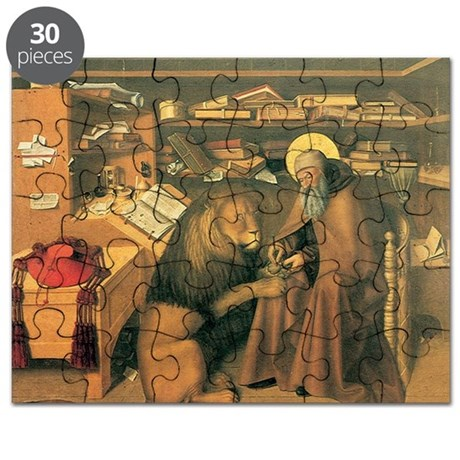 Saint Jerome in his Study Puzzle