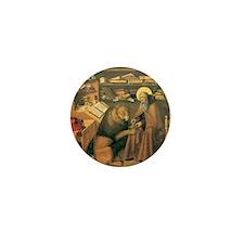 Saint Jerome in his Study Mini Button