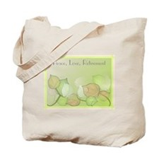 Peace Love Retirement Tote Bag