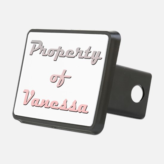 Property Of Vanessa Female Hitch Cover