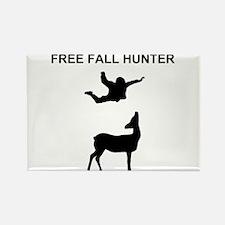 free fall hunter Rectangle Magnet