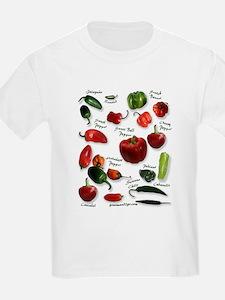 Hot Chili Peppers Kids T-Shirt