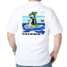 Penguin Dive Bar (BK) T-Shirt