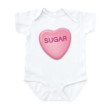 sugar Candy Heart Infant Bodysuit
