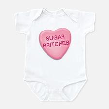 sugar britches Candy Heart Infant Bodysuit